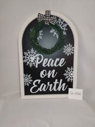 Peace on Earth Sign from Lloyd's Florist, local florist in Louisville,KY