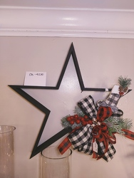 "Black 14"" Star from Lloyd's Florist, local florist in Louisville,KY"
