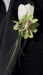 Butterfly Kisses Boutonniere from Lloyd's Florist, local florist in Louisville,KY