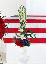American Arrangement from Lloyd's Florist, local florist in Louisville,KY