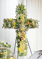 Angel's Cross Easel from Lloyd's Florist, local florist in Louisville,KY