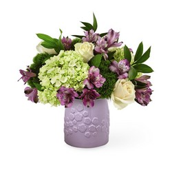 The FTD Lavender Bliss Bouquet from Lloyd's Florist, local florist in Louisville,KY