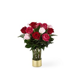 The FTD Love & Roses Bouquet from Lloyd's Florist, local florist in Louisville,KY